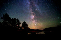 The Milky Way over Glenveagh National Park