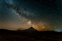 Errigal and the Milky Way