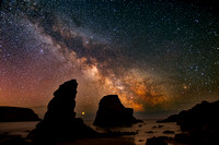 Milky Way & Jupiter Over The Copper Coast