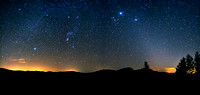 Zodiacal Light and the Winter Stars