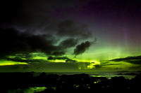 Aurora In The Rock Pools