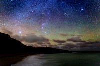 The Winter Stars Above Maghery, Dungloe, Co. Donegal