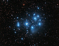 The Pleiades Star Cluster