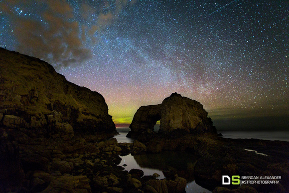 The Great Pollet Sea Arch & The Northern Milky Way