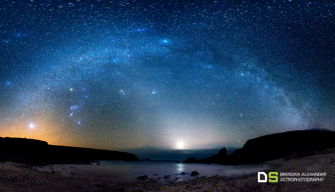 Zodiacal Light at An Port, Co. Donegal