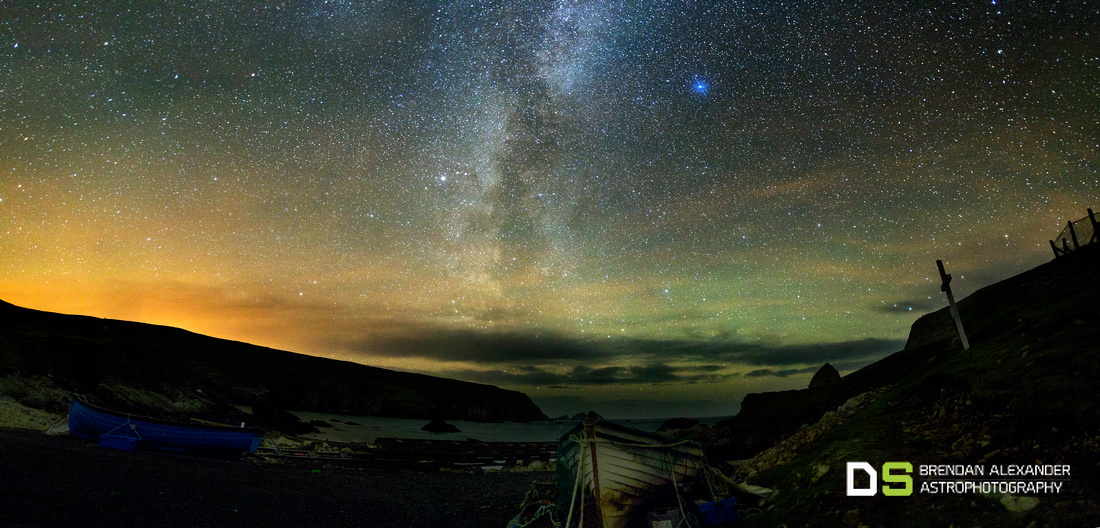 Milky Way over Port