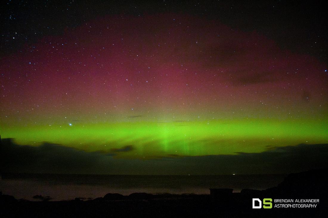 Aurora Dances Over Fanad Head
