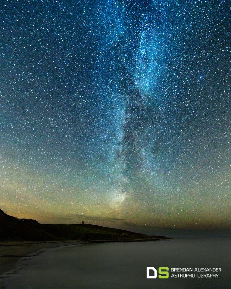 Milky Way at Crohy Head, Dungloe